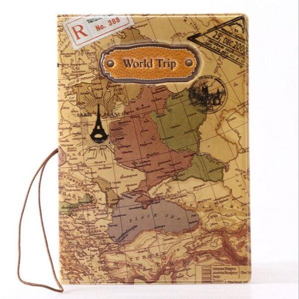 New 14cm x 9.6cm Passport Cover for Active Travellers Luggage & Travel Bags 7