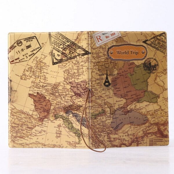 New 14cm x 9.6cm Passport Cover for Active Travellers Luggage & Travel Bags 8