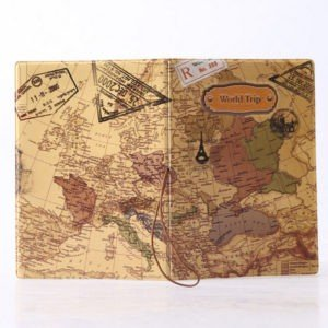 New 14cm x 9.6cm Passport Cover for Active Travellers Luggage & Travel Bags