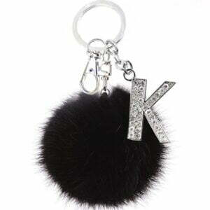 Initial Keychain for Women Luggage & Travel Bags 19