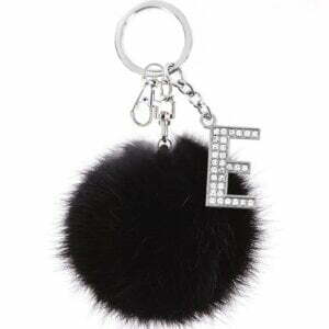 Initial Keychain for Women Luggage & Travel Bags 26