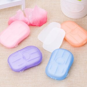 New 20pcs Water Soluble Paper Soap for Personal Care Beauty & Health 27