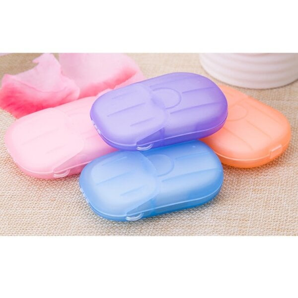 New 20pcs Water Soluble Paper Soap for Personal Care Beauty & Health 14