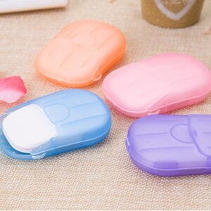 New 20pcs Water Soluble Paper Soap for Personal Care Beauty & Health 23