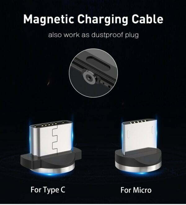 2.4A Type C Cable Magnetic Micro USB Cable Smartphone 13