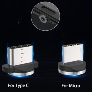 2.4A Type C Cable Magnetic Micro USB Cable Smartphone 20