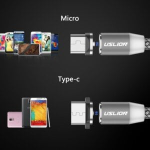 2.4A Type C Cable Magnetic Micro USB Cable Smartphone 21