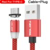 2.4A Type C Cable Magnetic Micro USB Cable Smartphone 43