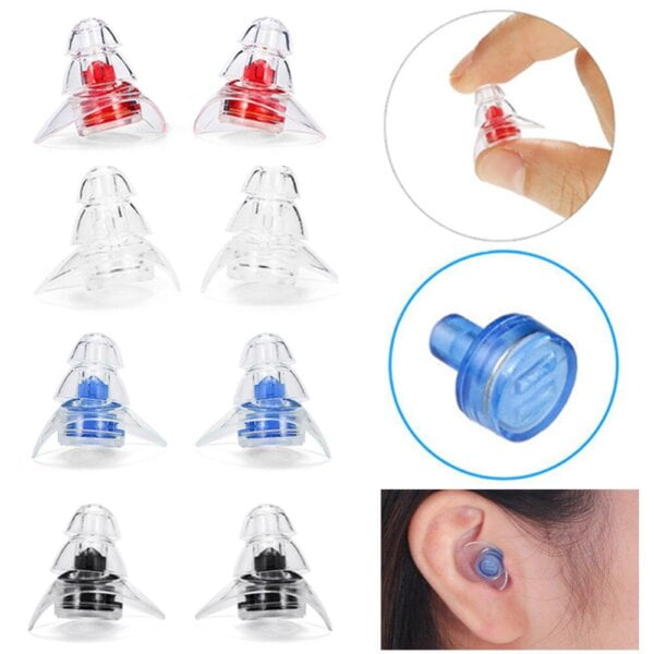 New 3-layer Earplug for Hearing Protection Beauty & Health 16