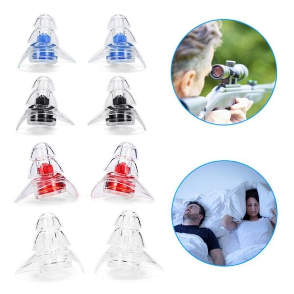 New 3-layer Earplug for Hearing Protection Beauty & Health 14