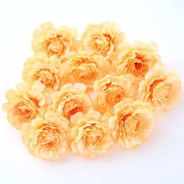 New Rose Flowers Artificial Party Supplies 11