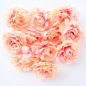 New Rose Flowers Artificial Party Supplies 24