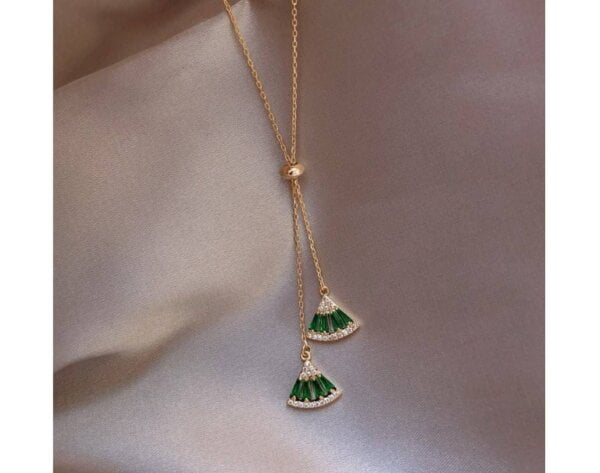Pendant Necklace Classic Triangle Necklace Women Jewelry 9