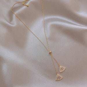 Pendant Necklace Classic Triangle Necklace Women Jewelry 21