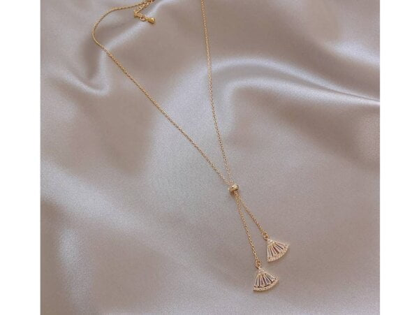 Pendant Necklace Classic Triangle Necklace Women Jewelry 10
