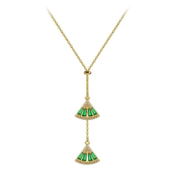 Pendant Necklace Classic Triangle Necklace Women Jewelry 2