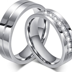 New Engagement Rings for Lovers Women Jewelry