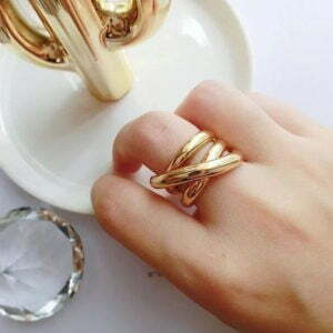 New Metal Ring for Daily Life Women Jewelry