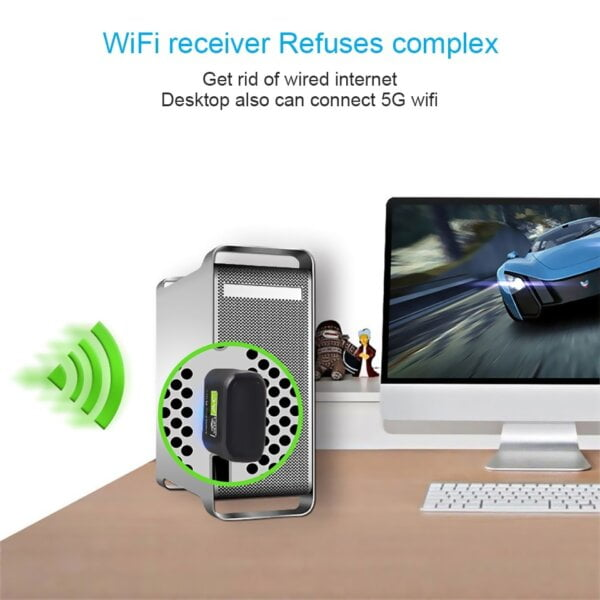 New USB WiFi Adapter with AC600 Free Driver Computers & Tablets 15