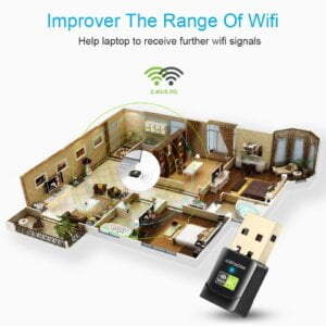 New USB WiFi Adapter with AC600 Free Driver Computers & Tablets 29