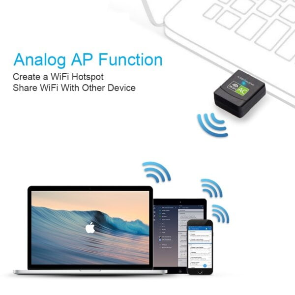 New USB WiFi Adapter with AC600 Free Driver Computers & Tablets 18