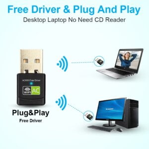 New USB WiFi Adapter with AC600 Free Driver Computers & Tablets 21