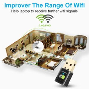 New USB WiFi Adapter with AC600 Free Driver Computers & Tablets 24
