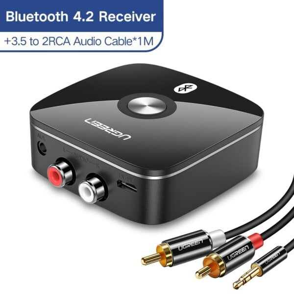 Powerful Bluetooth Audio Receiver for Streaming Music on 2 Speakers Automobiles & Motorcycles 9