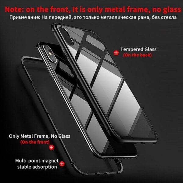 Ultimate Magnetic iPhone Case Magnetic Phone Case Smartphone 4