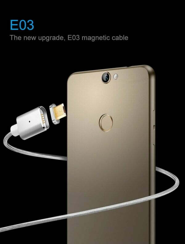 2.4A Micro USB Cable Magnetic Fast Charging Cable Smartphone 4