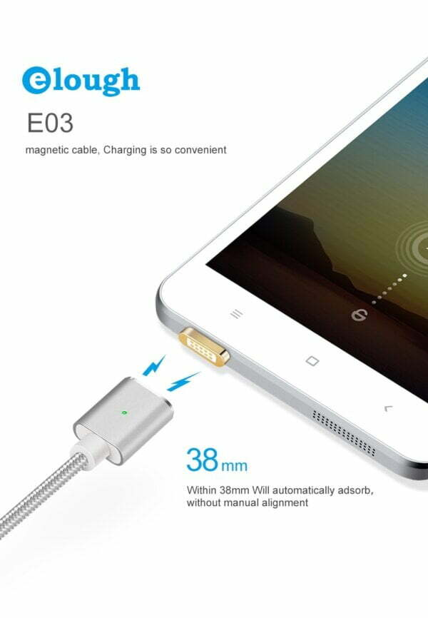 2.4A Micro USB Cable Magnetic Fast Charging Cable Smartphone 10