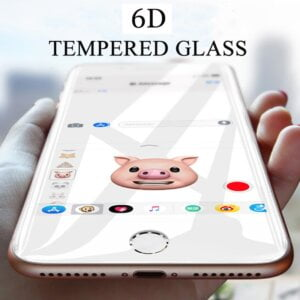 New 6D Curved Tempered Glass for iPhone Screen Protection Smartphone