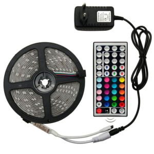 LED Stripes with Remote Control and Adapter Lighting