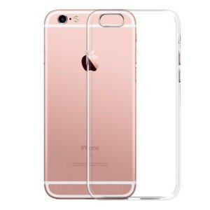Classic Protective Transparent Soft Silicone Case for iPhone Phone Cases & Bags