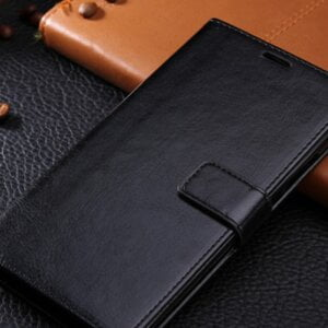 Leather Flip Wallet Phone Case for Samsung Phone Cases & Bags