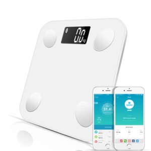 Bluetooth Smart Scale in White Home Improvement & Tools 2